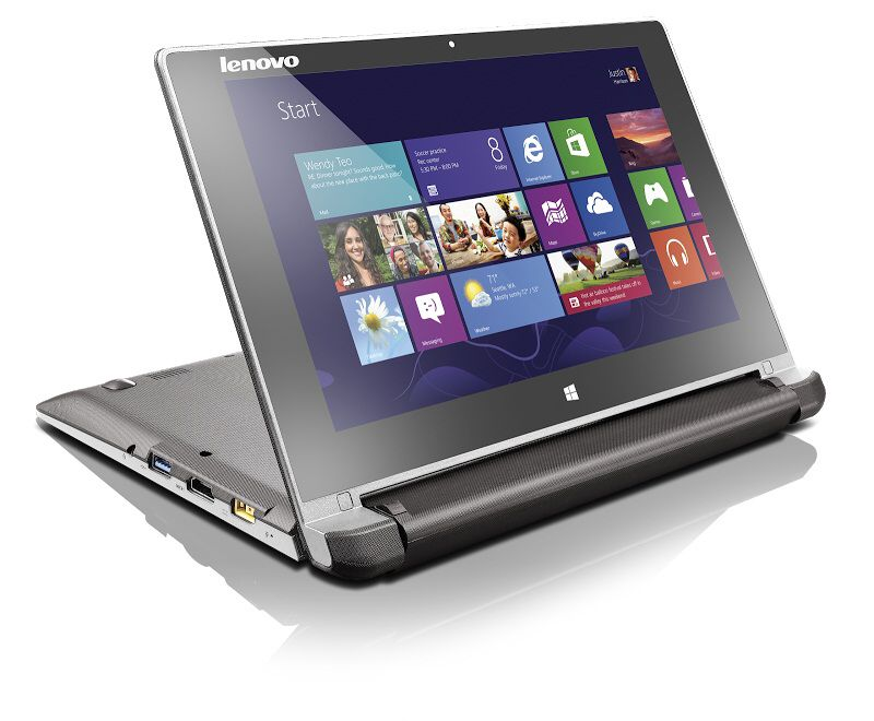 Notebook Lenovo Flex 10 s otočeným displejem