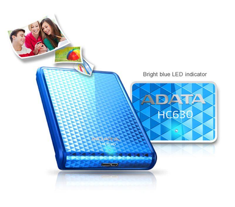 ADATA HC630 modrá