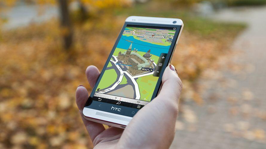 Sygic GPS Navigation pro chytré telefony a tablety