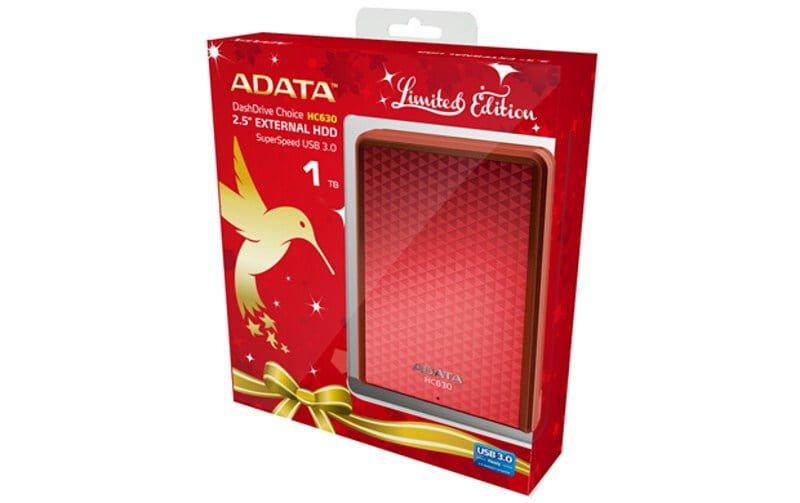 ADATA HC630 Vánoční edice