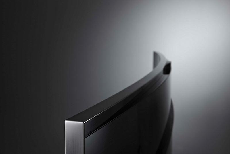 Prohnuté a UHD televize Samsung