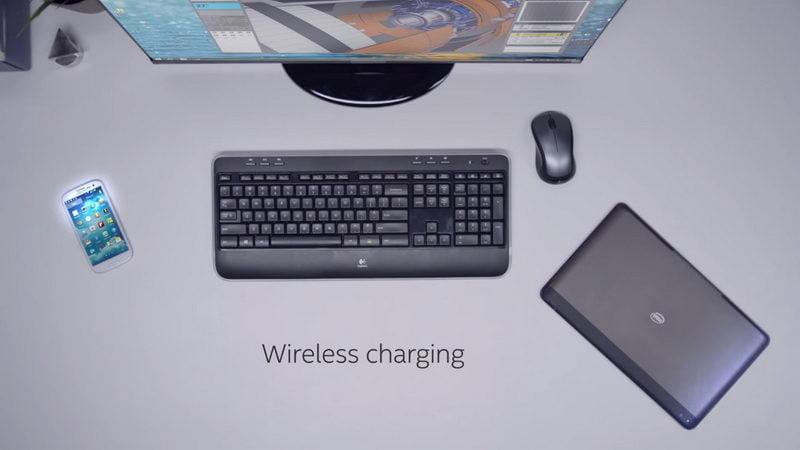 Bezdrátové napájení Intel