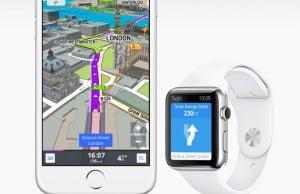 Sygic navigace pro Apple Watch