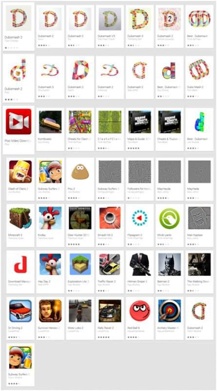 Podvodné aplikace na Google Play